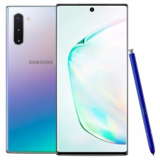 Samsung Galaxy Note 10 Factory Unlocked Cell Phone with 256GB (U.S. Warranty), Aura Glow (Silver) Note10.